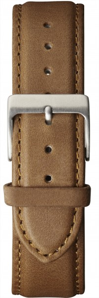 Watch strap leather brown