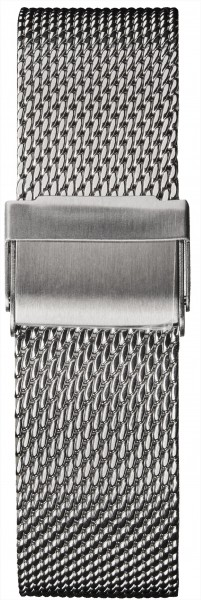 Watch strap milanese silver